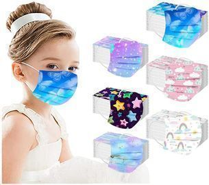 Amazon - Disposable Face Coverings for Kids $3.89