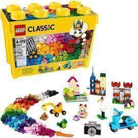 LEGO 790pc Classic Large Creative Brick Box