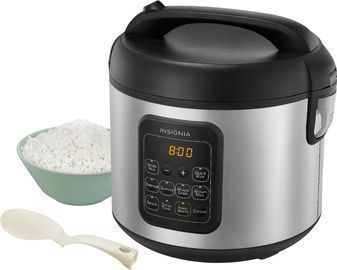 Insignia 20-Cup Rice Cooker and Steamer