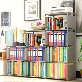 9-Cubes Bookshelf Storage