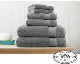 6pc Hygrocotton Towel Set