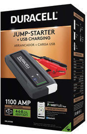 Duracell 1100 Peak Amps Bluetooth Lithium-Ion Jump-Starter