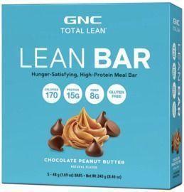 2x GNC Total Lean Lean Bar - Chocolate Peanut Butter