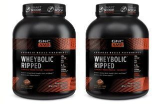 B1G1 50% OFF   GNC AMP Wheybolic Ripped Performance Protein + Thermogenic
