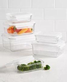 Martha Stewart Collection 12pc Glass Storage Set