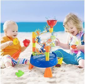 Water and Sand Play Table for Kids