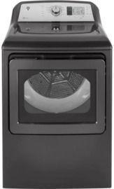 GE 7.4 cu. ft. 120-Volt Diamond Gray Gas Vented Dryer