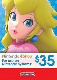 $35 Nintendo Shop eCard