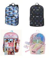 Kids 6 Piece Backpack Sets