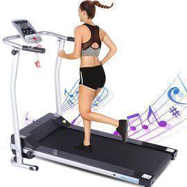 Folding Treadmills with LCD Monitor
