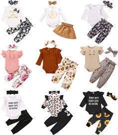 Fashion Newborn Baby Clothes Sets