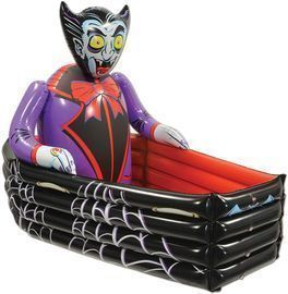 Beistle Novelty 42 Inflatable Vampire and Coffin Drink Cooler