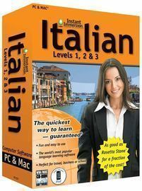 Instant Immersion Language Teaching Software Levels 1, 2, & 3 for PC & Mac