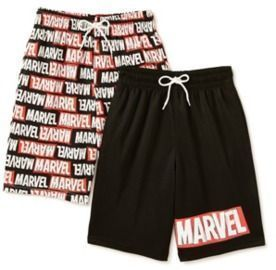 Boys Active Shorts 2-Pack