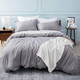 Queen Size Duvet Covers with Zipper Closure