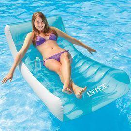 74 X 39 Intex Rockin' Inflatable Lounge Pool Float