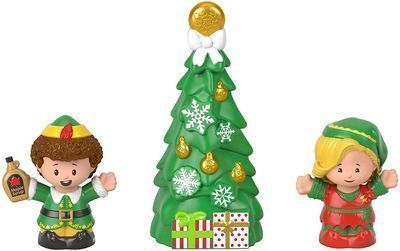 Fisher-Price Little People Elf Movie Figure Set