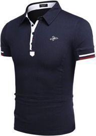 Men's Casual Cotton Polo