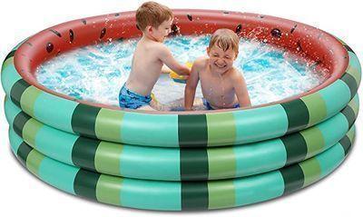 Inflatable Watermelon Kiddie Pool