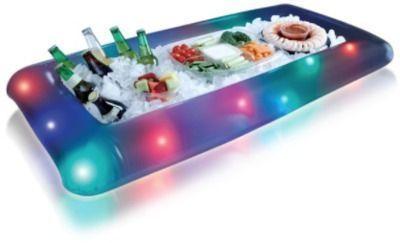 Illuminated LED Buffet Snack Cooler