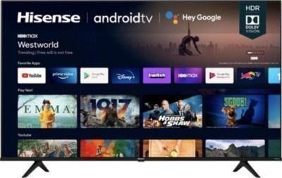 Hisense 70 Class A6G Series LED 4K UHD Smart Android TV