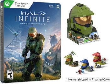 Halo Infinite Collector's Steelbook Edition + Halo Helmet (Pre-Order)