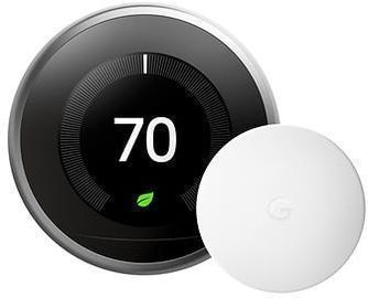 Google Nest Learning Thermostat w/ Nest Temperature Sensor