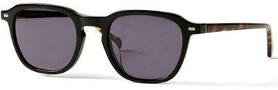 Banana Republic Ervine Men's Black/Havana Square Classic Sunglasses