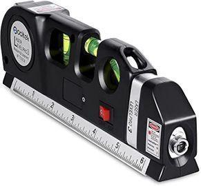 Qooltek Multipurpose Laser Level w/ 8' Measuring Tape