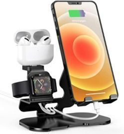 Charger Stand for Apple Watch iPhone & Airpods
