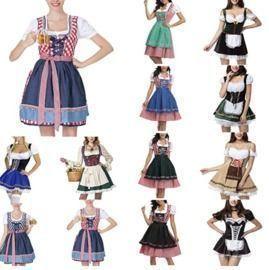 Halloween Oktoberfest Dresses