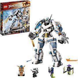Lego Ninjago Legacy Zane's Titan Mech Battle Set