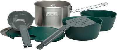 8-Piece Stanley Adventure All-in-One Two Bowl Camping Cookware Set