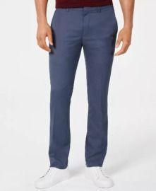 Alfani Men's AlfaTech Classic-Fit Stretch Pants