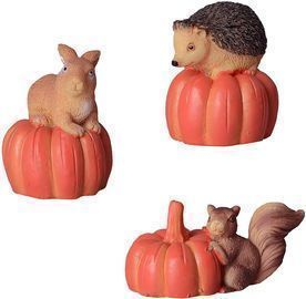 Halloween Decoration Mini Animal Figurines