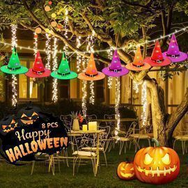 Halloween Witch Hats Lights