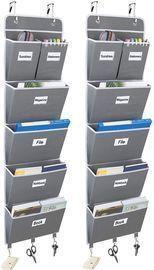 2 Pack 5-Shelf Over The Door File Organizer