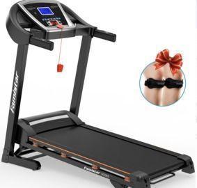 Folding Treadmill 15 Levels Auto Incline