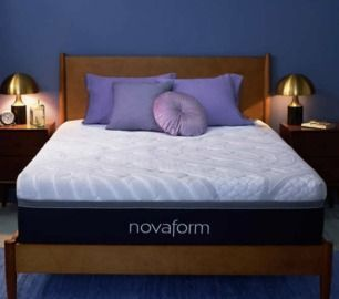 Novaform 14 Queen Comfort Grande Plus Gel Memory Foam Mattress Medium