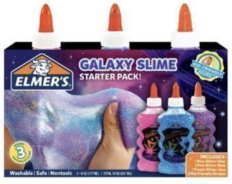 Elmer's Glitter Glue 3pk Slime