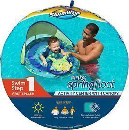 SwimWays Inflatable Octopus Pool Float Activity Center