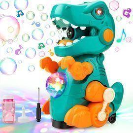 Dinosaur Bubble Machine