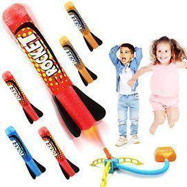 Duckura Jump Rocket Launcher for Kids