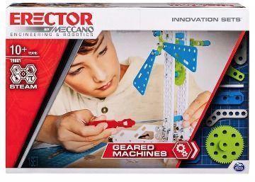 Meccano Erector by Geared Machines S.T.E.A.M. Building Kit