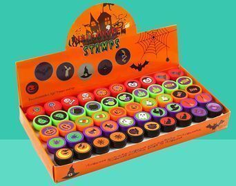 50pcs Halloween Assorted Stamps