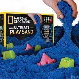 National Geographic 6lbs Ultimate Blue Play Sand
