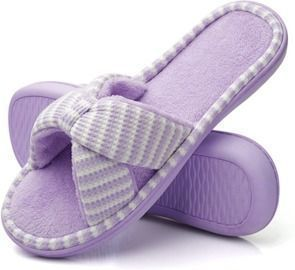 Soft Plush Furry Cozy Open Toe Slippers