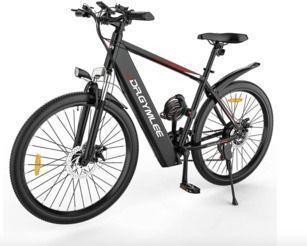 Electric Mountain Bike + Lock