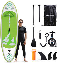 8-12 Inflatable SUP Board w/ 3 Fins