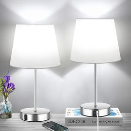 2 3-Way Dimmable Touch Control Table Lamps